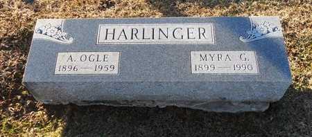 HARLINGER, ARTIE OGLE - Pike County, Missouri | ARTIE OGLE HARLINGER - Missouri Gravestone Photos