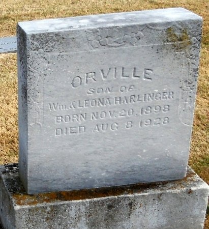 HARLINGER, ORVILLE - Pike County, Missouri | ORVILLE HARLINGER - Missouri Gravestone Photos