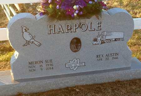 HARPOLE, MERON SUE - Pike County, Missouri | MERON SUE HARPOLE - Missouri Gravestone Photos