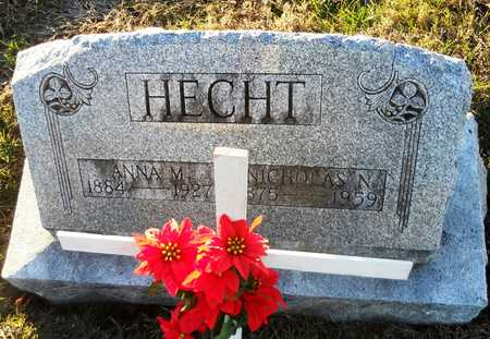 WOEDKE HECHT, ANNA MARGARET - Pike County, Missouri | ANNA MARGARET WOEDKE HECHT - Missouri Gravestone Photos