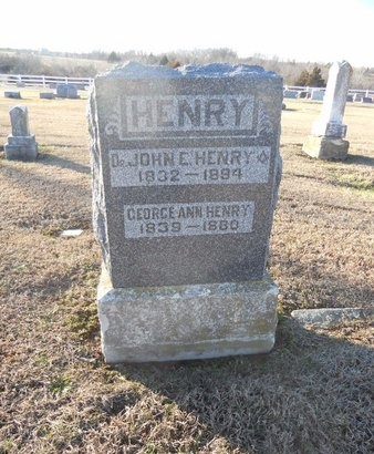 HENRY, JOHN E (DOCTOR) - Pike County, Missouri | JOHN E (DOCTOR) HENRY - Missouri Gravestone Photos
