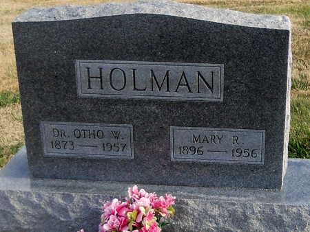 FISHBACK HOLMAN, MARY REBECCA - Pike County, Missouri | MARY REBECCA FISHBACK HOLMAN - Missouri Gravestone Photos