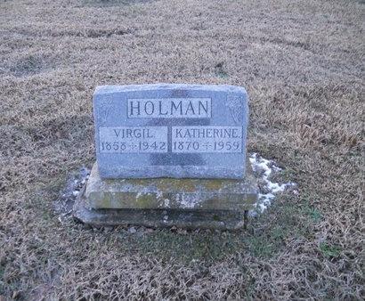 HOLMAN, VIRGIL - Pike County, Missouri   VIRGIL HOLMAN - Missouri Gravestone Photos