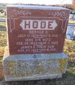HOOE, JAMES E - Pike County, Missouri | JAMES E HOOE - Missouri Gravestone Photos
