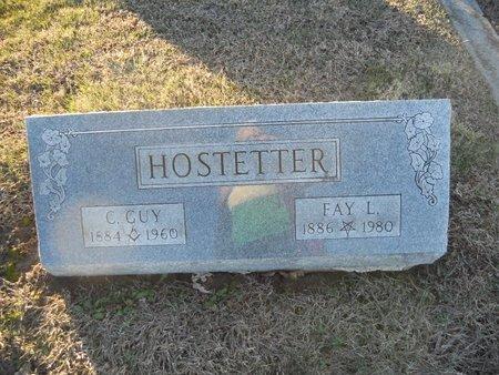 HOSTETTER, C GUY - Pike County, Missouri | C GUY HOSTETTER - Missouri Gravestone Photos