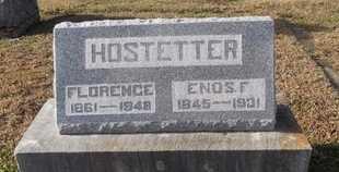 HOSTETTER, FLORENCE - Pike County, Missouri | FLORENCE HOSTETTER - Missouri Gravestone Photos