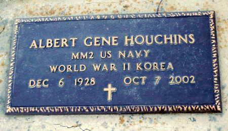 HOUCHINS, ALBERT GENE - Pike County, Missouri | ALBERT GENE HOUCHINS - Missouri Gravestone Photos