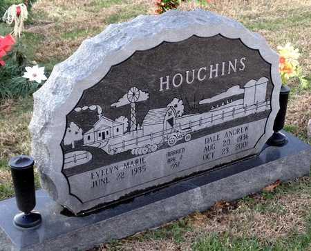 HOUCHINS, DALE ANDREW - Pike County, Missouri | DALE ANDREW HOUCHINS - Missouri Gravestone Photos