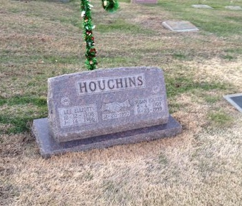 FOUTES HOUCHINS, SUSAN - Pike County, Missouri | SUSAN FOUTES HOUCHINS - Missouri Gravestone Photos