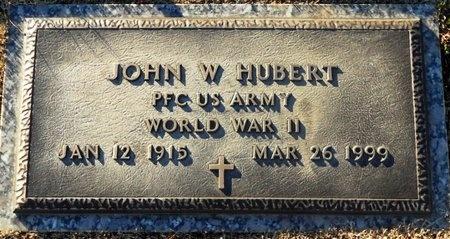 HUBERT, JOHN WILLIAM VETERAN - Pike County, Missouri   JOHN WILLIAM VETERAN HUBERT - Missouri Gravestone Photos