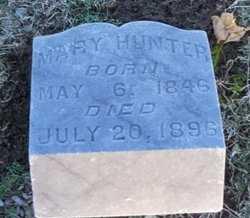 HUNTER, MARY - Pike County, Missouri   MARY HUNTER - Missouri Gravestone Photos