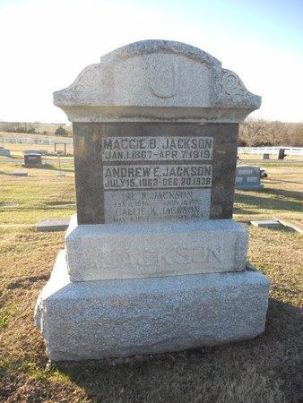 JACKSON, MAGGIE BELLE - Pike County, Missouri | MAGGIE BELLE JACKSON - Missouri Gravestone Photos