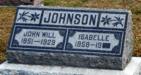JOHNSON, ISABELLE - Pike County, Missouri   ISABELLE JOHNSON - Missouri Gravestone Photos