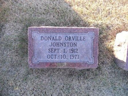 JOHNSTON, DONALD ORVILLE - Pike County, Missouri | DONALD ORVILLE JOHNSTON - Missouri Gravestone Photos