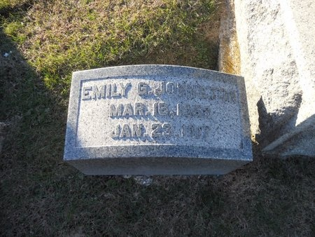 JOHNSTON, EMILY G - Pike County, Missouri   EMILY G JOHNSTON - Missouri Gravestone Photos