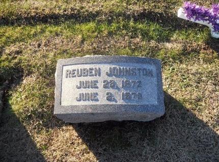 JOHNSTON, REUBEN - Pike County, Missouri | REUBEN JOHNSTON - Missouri Gravestone Photos