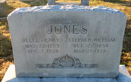 HENRY JONES, BELLE - Pike County, Missouri | BELLE HENRY JONES - Missouri Gravestone Photos