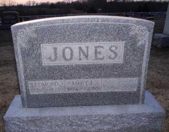 BUCKS JONES, MARY ELLEN - Pike County, Missouri | MARY ELLEN BUCKS JONES - Missouri Gravestone Photos