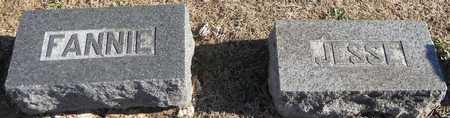 JONES, FANNIE ELLEN - Pike County, Missouri   FANNIE ELLEN JONES - Missouri Gravestone Photos