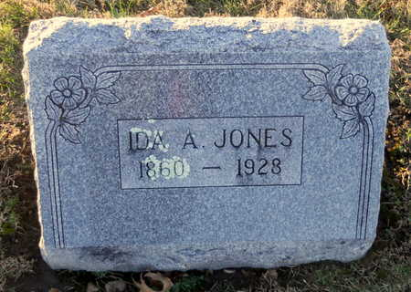 JONES, IDA ADALADE - Pike County, Missouri | IDA ADALADE JONES - Missouri Gravestone Photos
