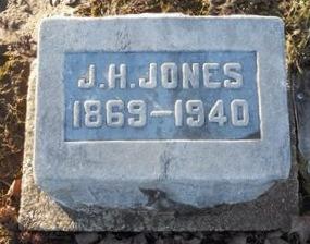 JONES, JOSEPH HENRY - Pike County, Missouri | JOSEPH HENRY JONES - Missouri Gravestone Photos