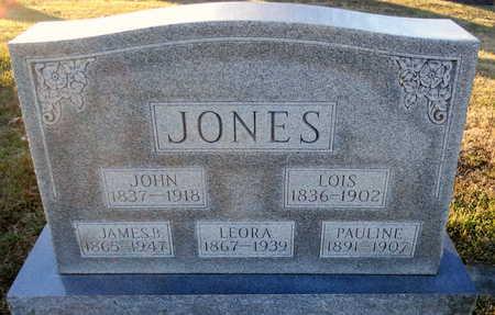 "JONES, LEORA ""ORA"" - Pike County, Missouri | LEORA ""ORA"" JONES - Missouri Gravestone Photos"