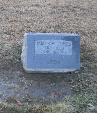 JONES, JAMES WILLIAM - Pike County, Missouri | JAMES WILLIAM JONES - Missouri Gravestone Photos