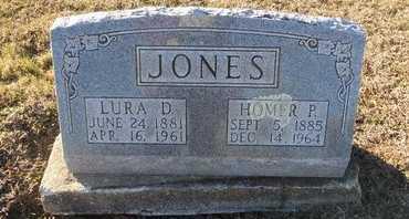JONES, LURA DEAN - Pike County, Missouri | LURA DEAN JONES - Missouri Gravestone Photos