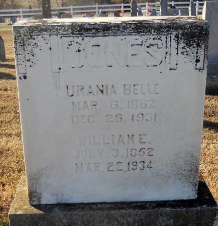 JONES, URANIA BELLE - Pike County, Missouri | URANIA BELLE JONES - Missouri Gravestone Photos