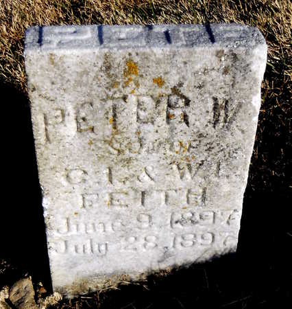 KEITH, PETER W - Pike County, Missouri | PETER W KEITH - Missouri Gravestone Photos