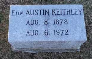 KEITHLEY, EDWARD AUSTIN - Pike County, Missouri   EDWARD AUSTIN KEITHLEY - Missouri Gravestone Photos