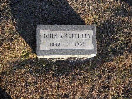 KEITHLEY, JOHN B - Pike County, Missouri | JOHN B KEITHLEY - Missouri Gravestone Photos