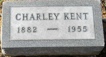 KENT, CHARLEY AUGUST - Pike County, Missouri | CHARLEY AUGUST KENT - Missouri Gravestone Photos