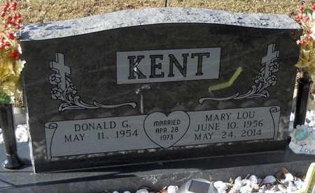 ROGERS KENT, MARY LOU - Pike County, Missouri | MARY LOU ROGERS KENT - Missouri Gravestone Photos