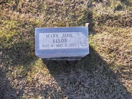 KISOR, MARY JANE - Pike County, Missouri | MARY JANE KISOR - Missouri Gravestone Photos