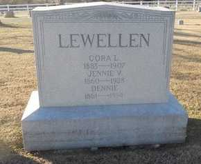 LEWELLEN, CORA L - Pike County, Missouri | CORA L LEWELLEN - Missouri Gravestone Photos