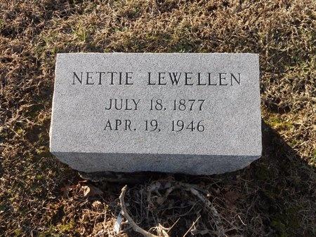 LEWELLEN, NETTIE - Pike County, Missouri | NETTIE LEWELLEN - Missouri Gravestone Photos