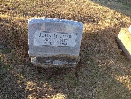 LITER, JOHN M - Pike County, Missouri | JOHN M LITER - Missouri Gravestone Photos