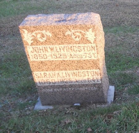 LIVINGSTON, SARAH A - Pike County, Missouri   SARAH A LIVINGSTON - Missouri Gravestone Photos