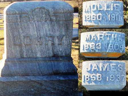 LOWRY, MOLLIE HULET - Pike County, Missouri | MOLLIE HULET LOWRY - Missouri Gravestone Photos