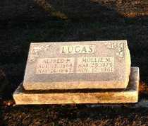 LUCAS, MOLLIE MAY - Pike County, Missouri | MOLLIE MAY LUCAS - Missouri Gravestone Photos