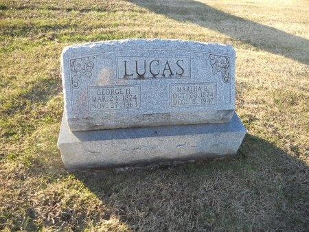LUCAS, MARTHA B - Pike County, Missouri | MARTHA B LUCAS - Missouri Gravestone Photos