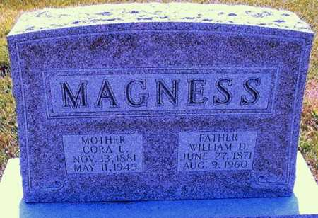 MAGNESS, CORA L - Pike County, Missouri | CORA L MAGNESS - Missouri Gravestone Photos