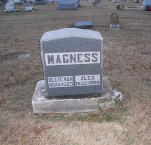 SANDERS MAGNESS, OLLIE VAN - Pike County, Missouri | OLLIE VAN SANDERS MAGNESS - Missouri Gravestone Photos