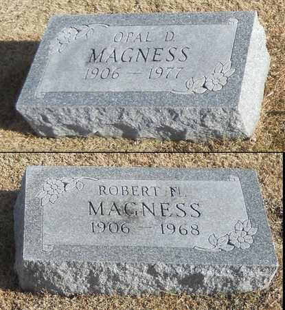 MAGNESS, OPAL D - Pike County, Missouri | OPAL D MAGNESS - Missouri Gravestone Photos