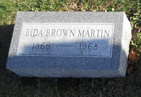 BROWN MARTIN, BIDA - Pike County, Missouri | BIDA BROWN MARTIN - Missouri Gravestone Photos