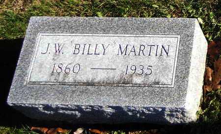 "MARTIN, JOHN W ""BILLY"" - Pike County, Missouri   JOHN W ""BILLY"" MARTIN - Missouri Gravestone Photos"