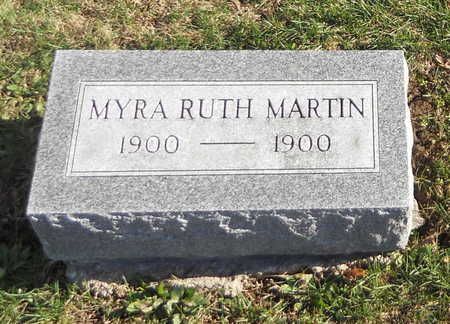 MARTIN, MYRA RUTH - Pike County, Missouri   MYRA RUTH MARTIN - Missouri Gravestone Photos