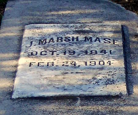 MASE, J MARSH - Pike County, Missouri | J MARSH MASE - Missouri Gravestone Photos
