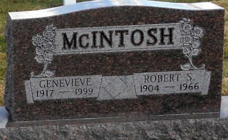 MCINTOSH, ROBERT S - Pike County, Missouri | ROBERT S MCINTOSH - Missouri Gravestone Photos